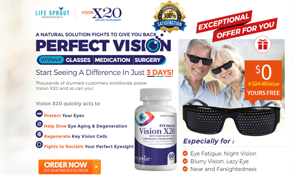 vision rx20 side effects