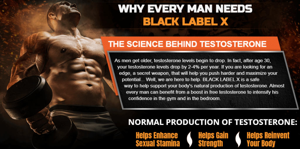WHY EVERY MAN NEEDS BLACK LABEL X