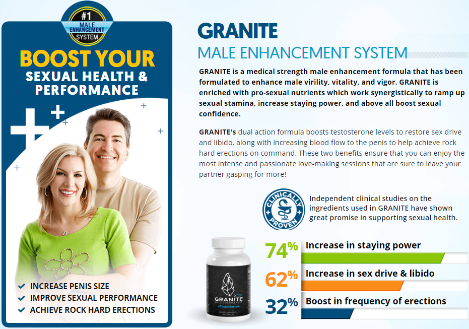 GRANITE  MALE ENHANCEMENT SYSTEM